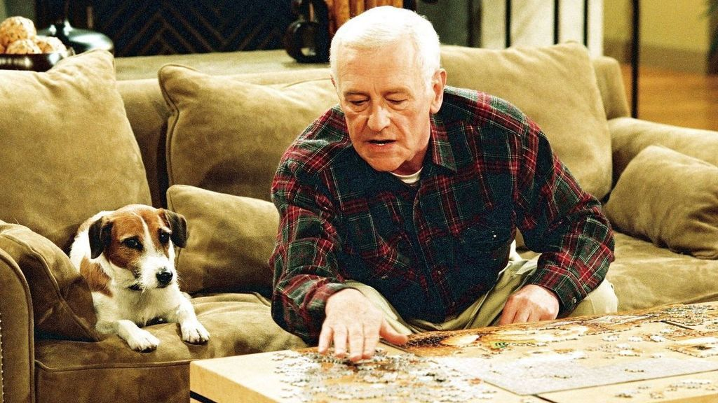 John Mahoney interpretó a Martin Crane en 'Frasier'.