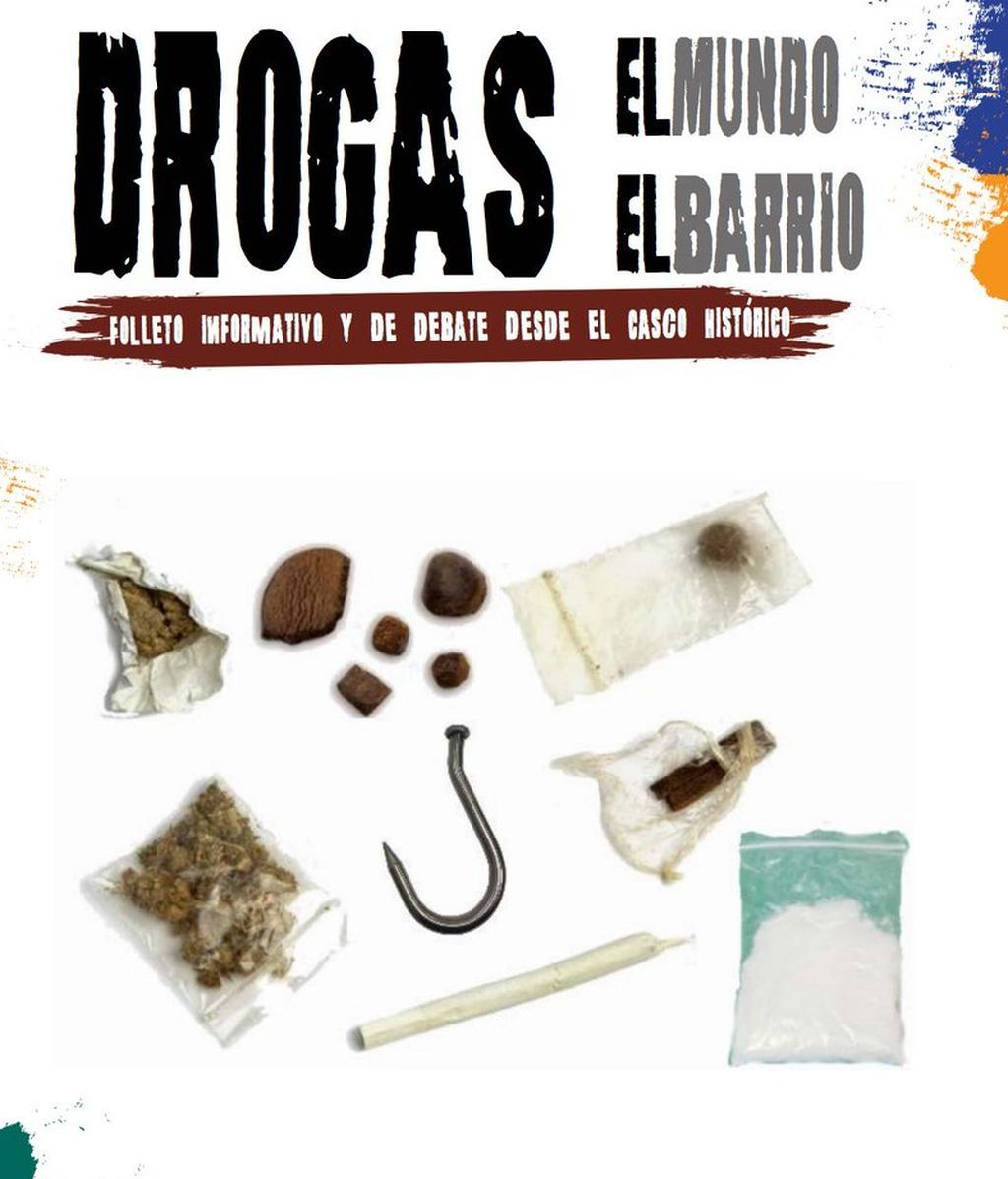 El Ayuntamiento de Zaragoza edita un folleto en el que aconseja el modo adecuado de consumir drogas