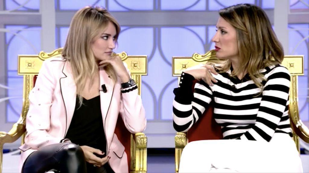 Alba Carrillo y Nagore Robles, 'opinionistas' de 'Mujeres y hombres y viceversa'.
