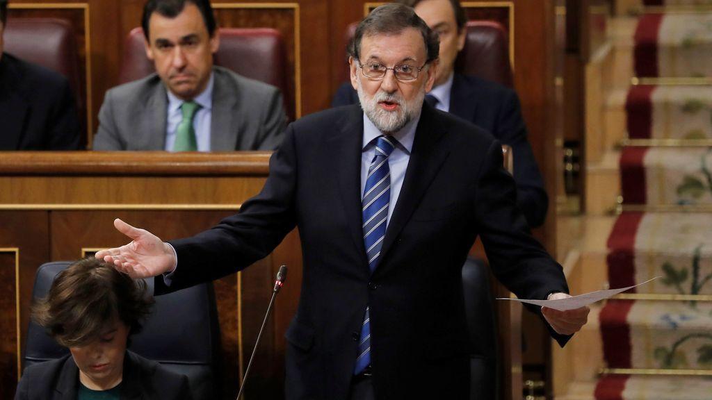 Rajoy se desentiende de la corrupción en el PP y acusa a Iglesias de ser peor que Torquemada