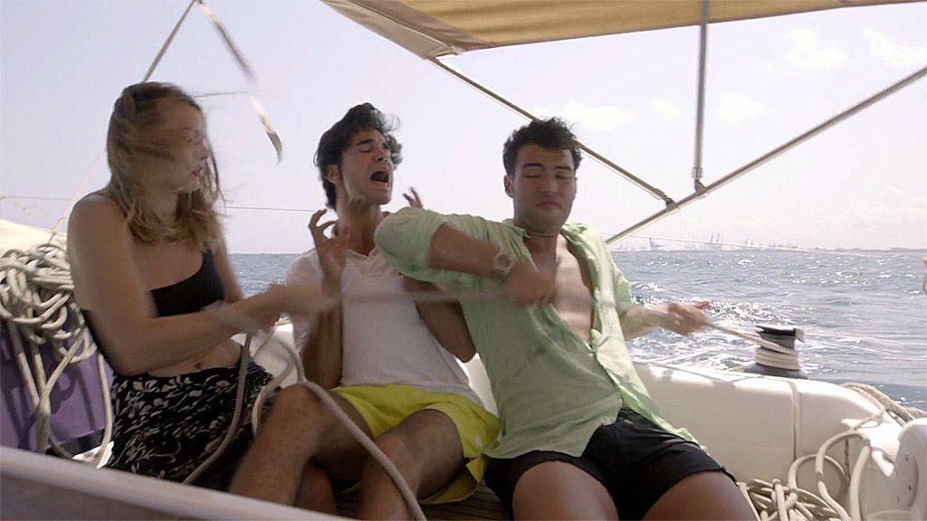 """El peor viaje en velero de los 'Salamanca Style': """"¡Fede, que nos matamos!"""""""