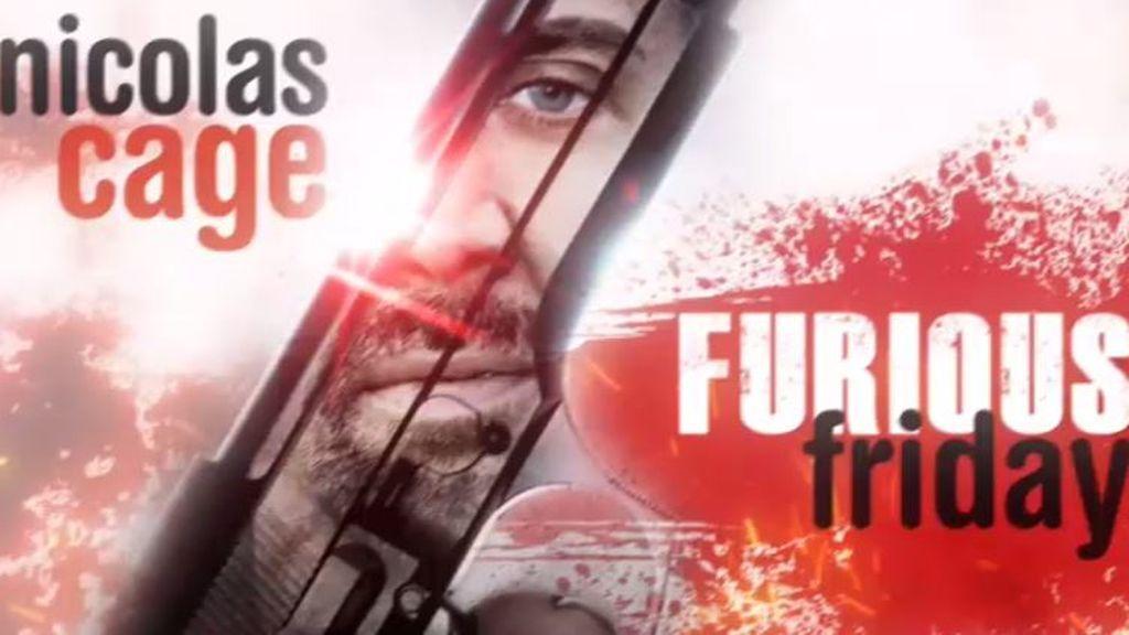 Nicolas Cage, protagonista de 'Furious Friday', el nuevo ciclo cinematográfico de Cuatro