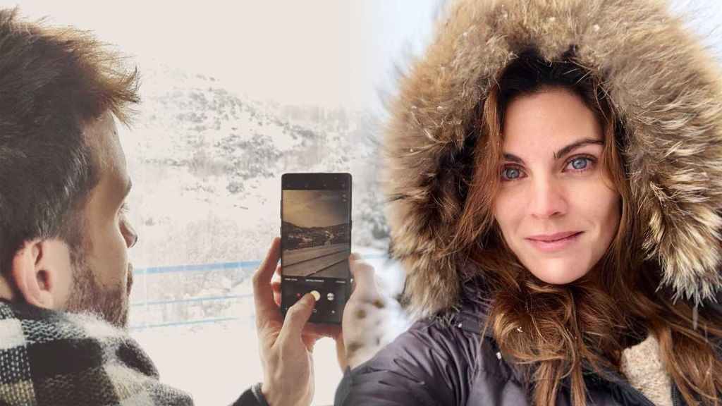Vips en la nieve: las fotos de los famosos disfrutando del manto blanco