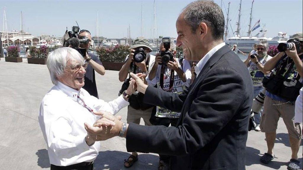 Camps, ante el juez por presuntas irregularidades en la construcción del circuito de la F1 en Valencia