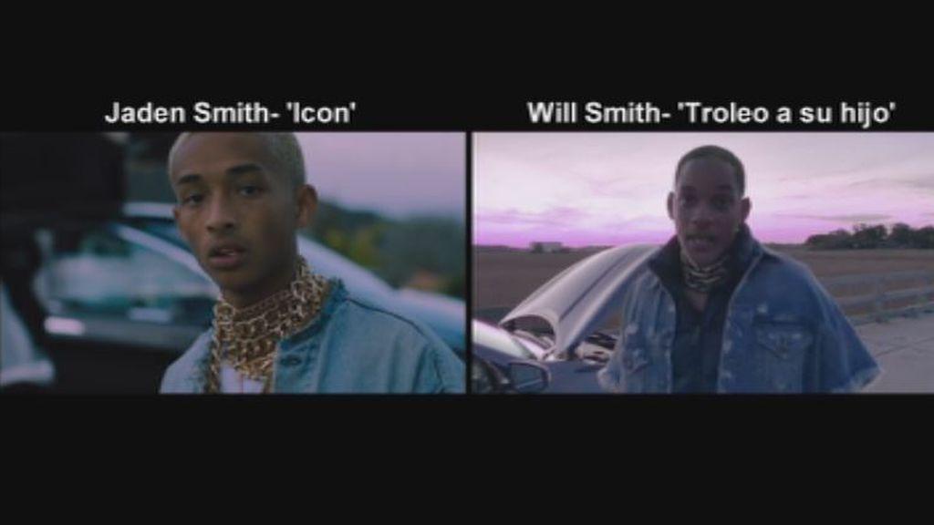 El 'troleo' de Will Smith a su hijo Jaden por su último videoclip