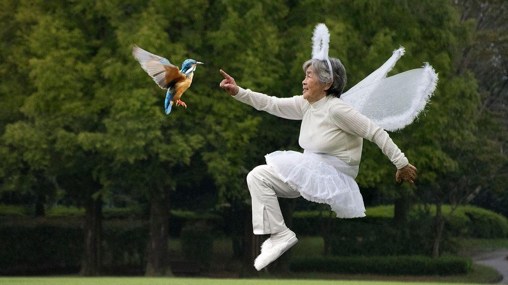 Kimiko Nishimoto, la bisabuela más divertida que tiene enloquecida la Red