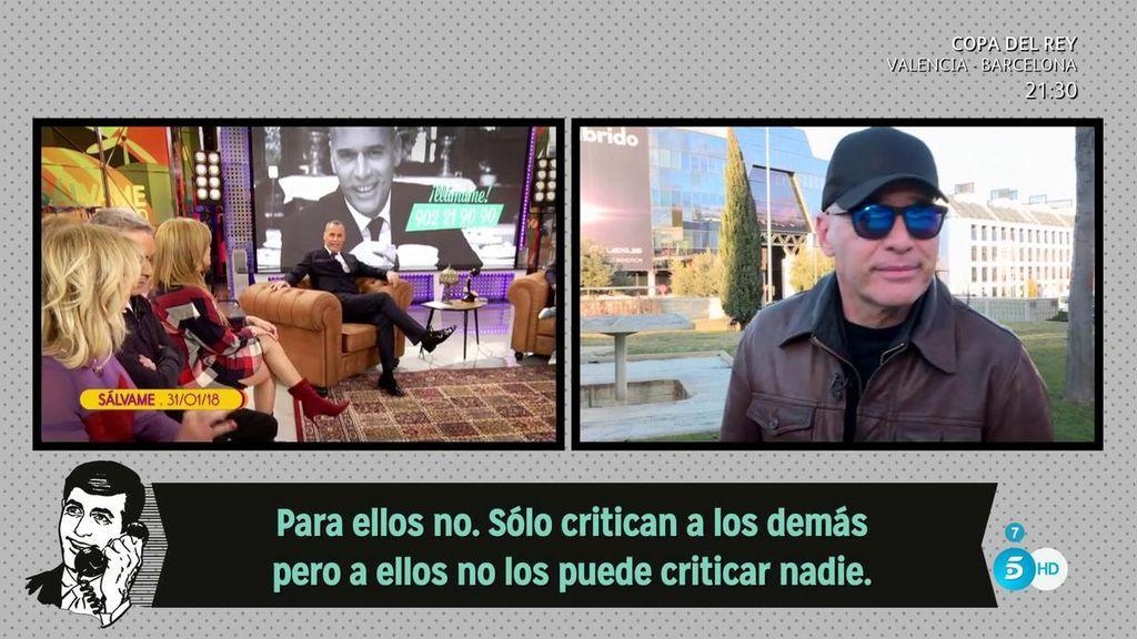 """Carlos Lozano, arremente contra los colaboradores: """"Me habéis tratado fatal. Yo no trataría así ni a mi peor enemigo"""""""