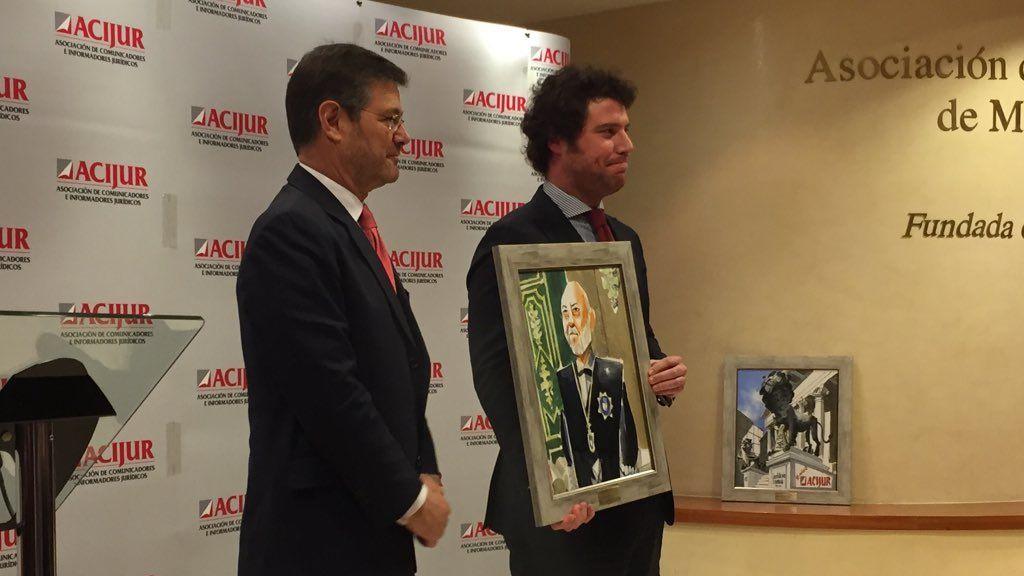 José Manuel Maza, a título póstumo, galardonado en la VII Edición de los Premios Puñetas