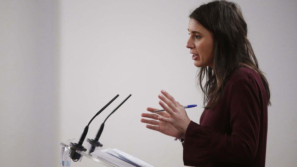 El 'portavozas' de Irene Montero reabre el debate sobre el uso del genérico en el lenguaje