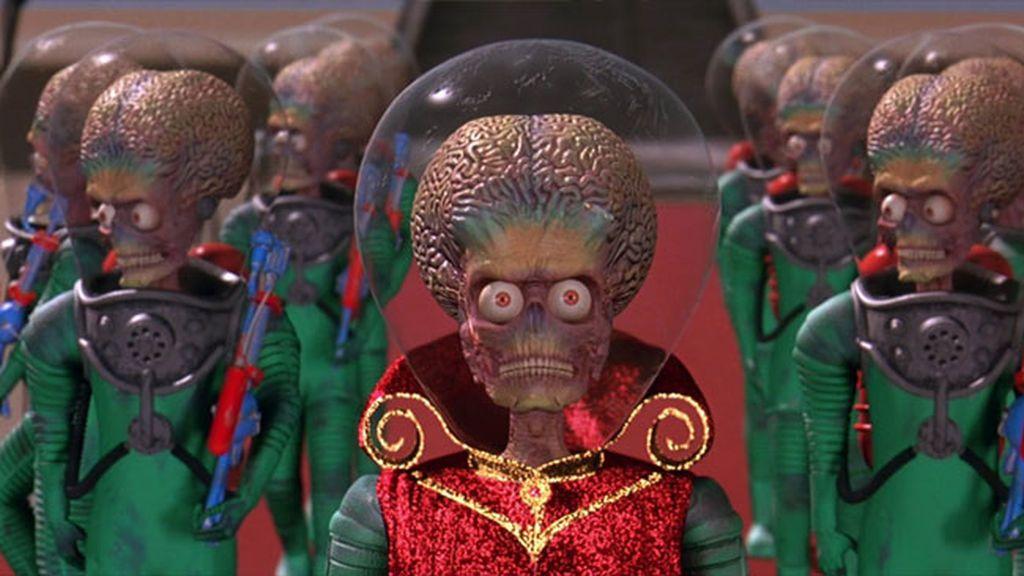 Ponemos a prueba tu olfato marciano: ¿En qué películas salen estos extraterrestres?