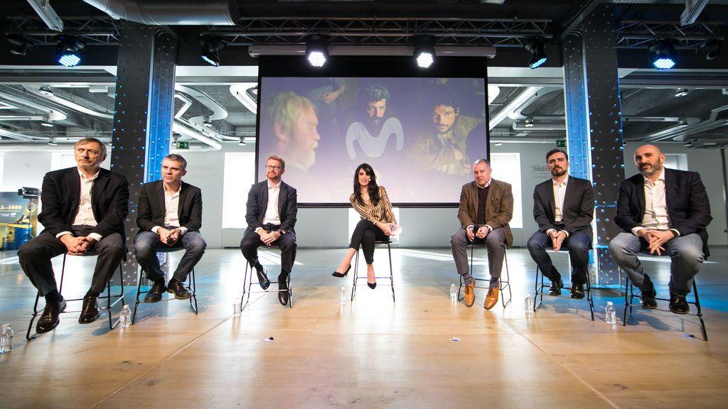 Imagen de la presentación de Movistar Series en Latinoamérica.