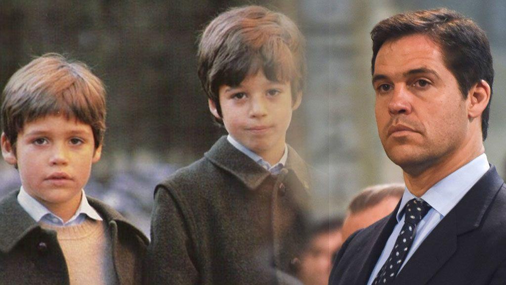 """Luis Alfonso de Borbón, en la triste carta a su hermano Fran, muerto a los 11 años: """"No nos pudimos despedir"""""""