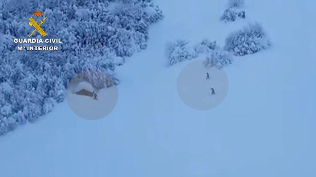 Rescatan a un hombre atrapado durante ocho días por la nevada en Asturias
