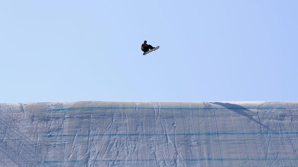 Un deportista en los Juegos Olímpicos de Invierno en Pyeongchang, Corea del Sur