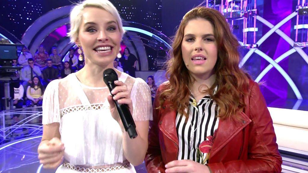 Soraya canta para Belén su éxito 'Qué bonito'... ¡y acaban improvisando un dueto a capela!