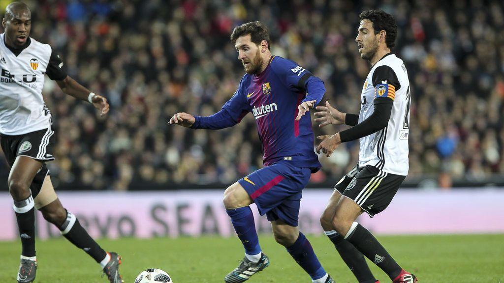 El Barça consigue meterse en su quinta final consecutiva de Copa tras ganar en Mestalla