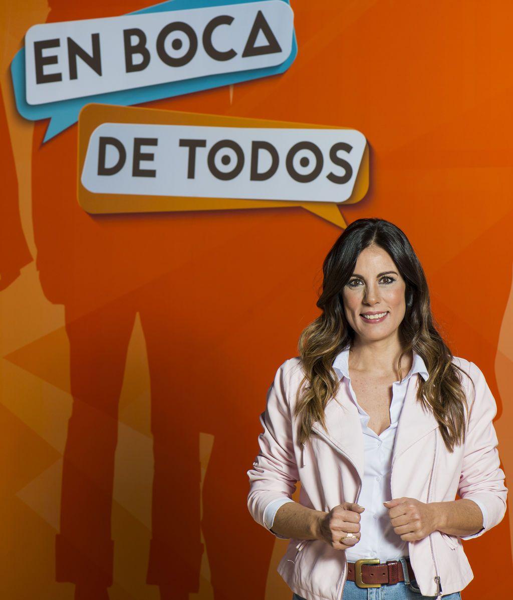 Alicia Senovilla, presentadora de 'En boca de todos' en Telemadrid.