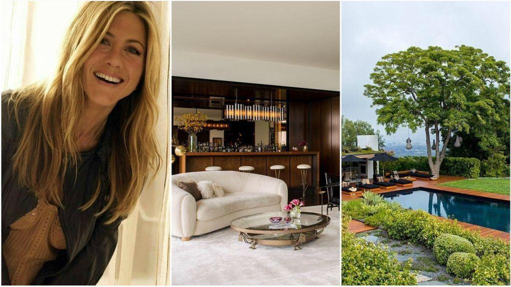 Muebles orgánicos, inspiración asiática y vistas impresionantes: Jenifer Aniston muestra su mansión de 21 millones de dólares