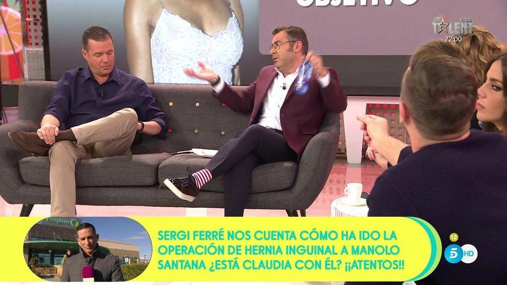 """Jorge Javier se mosquea con Rafa Mora: """"Si no controlas la información ¿por qué la pones en duda?"""""""