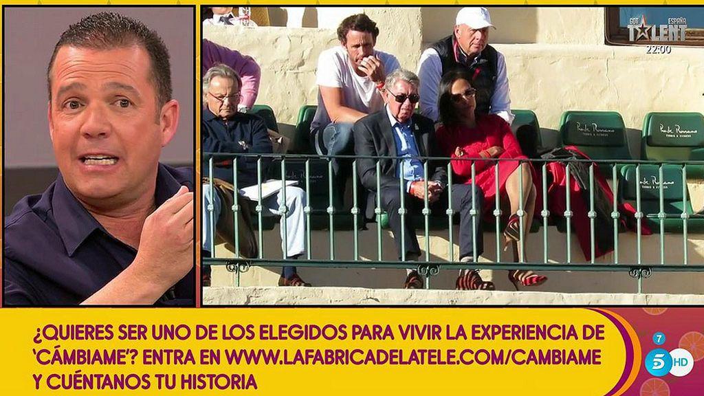"""José Ramón Llompart, sobre el posible """"amigo"""" de Claudia, novia de Manolo Santana: """"Tenerlo, lo tiene"""""""