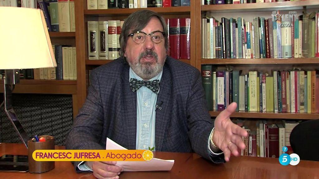 """Francesc Jufresa, abogado: """"Para que Isabel Pantoja pueda entrar en EEUU le quedan unos años"""""""