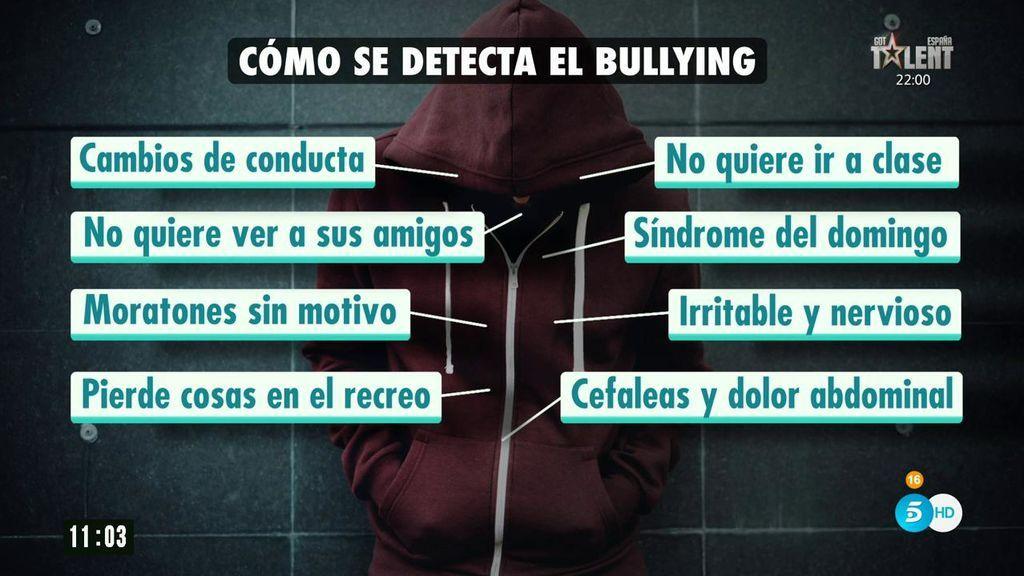 Como se detecta el bullying