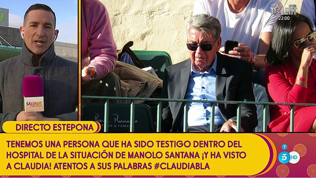 """Sergi Ferré: """"Me dicen que la operación de Manolo Santana  ha ido bien"""""""