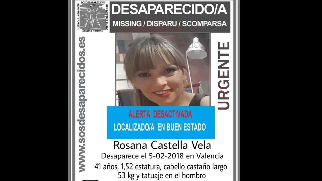 La mujer desaparecida esta semana en Valencia se presenta en un hospital de Castellón en buen estado