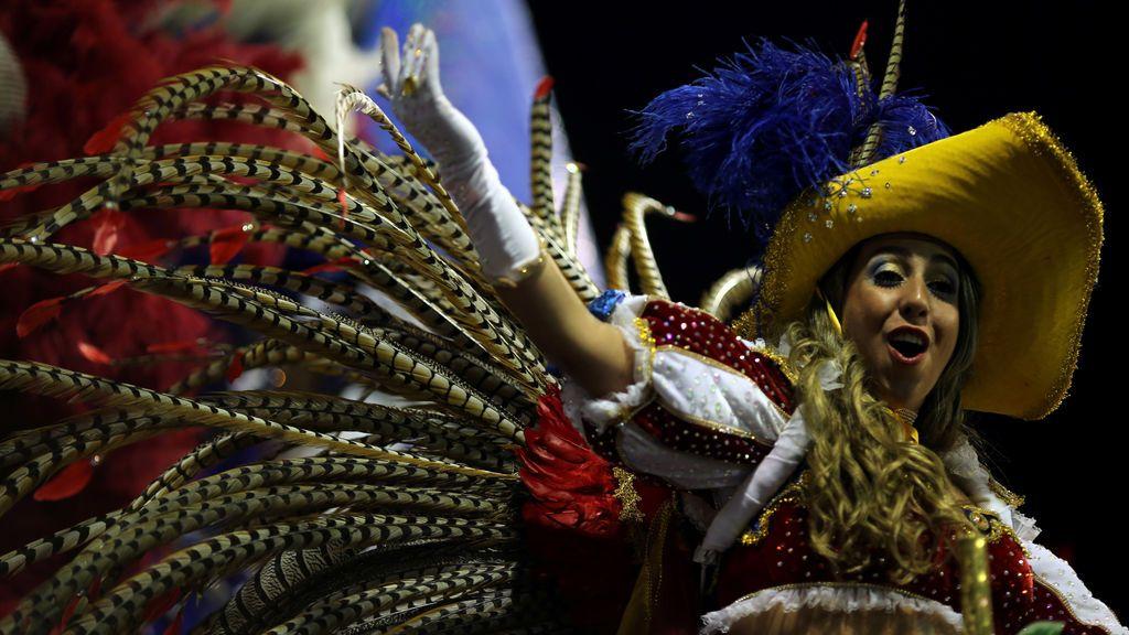 Carnaval en el  Sambódromo