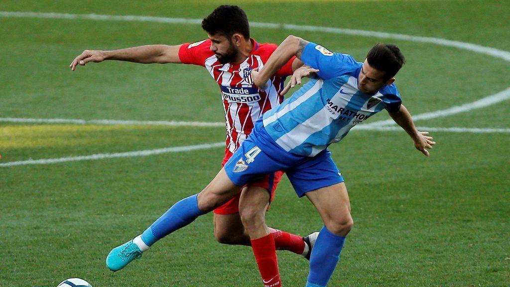 Griezmann salva a un tímido Atlético de Madrid en Málaga (0-1)