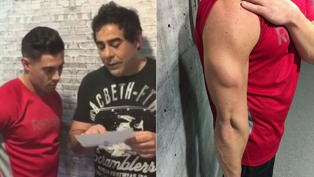 """Pablo Chiappella comienza su """"operación Lobezno"""" entrena para conseguir 'brazaco'"""