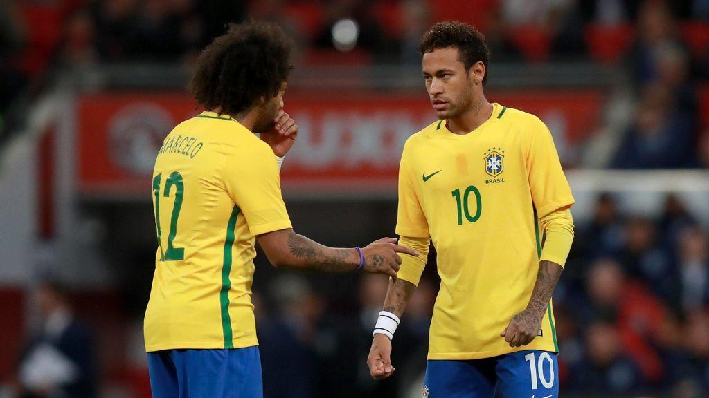"""Marcelo, en una entrevista en Brasil: """"Creo que Neymar jugará algún día en el Madrid"""""""