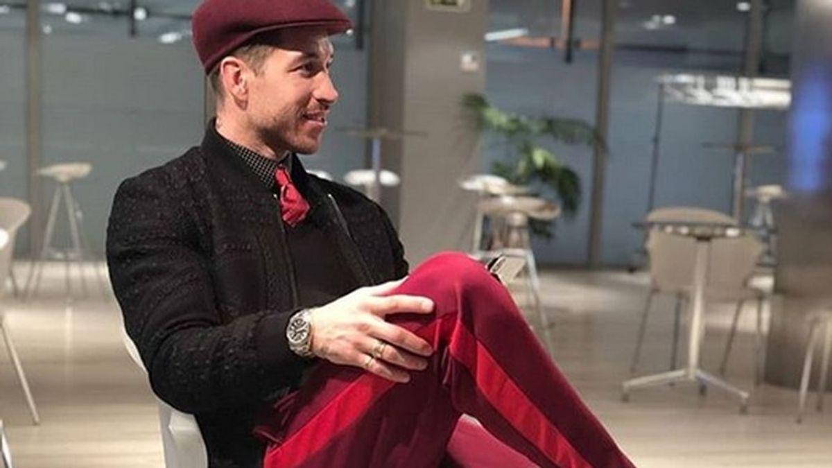 Sergio Ramos saca pecho de su arriesgado y criticado estilismo