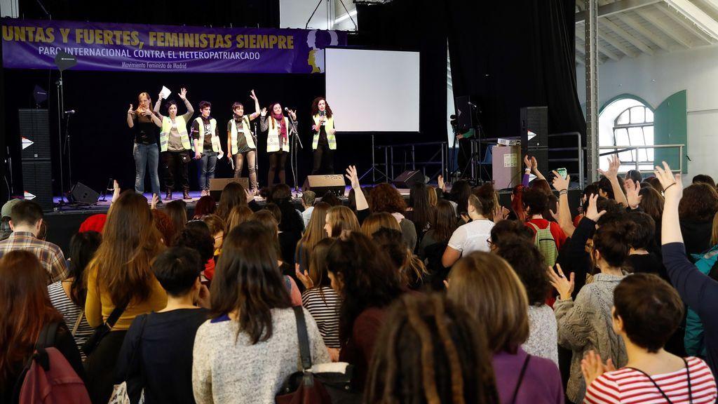 El 'Eventazo' en Madrid pone rumbo a la huelga feminista del 8 de marzo