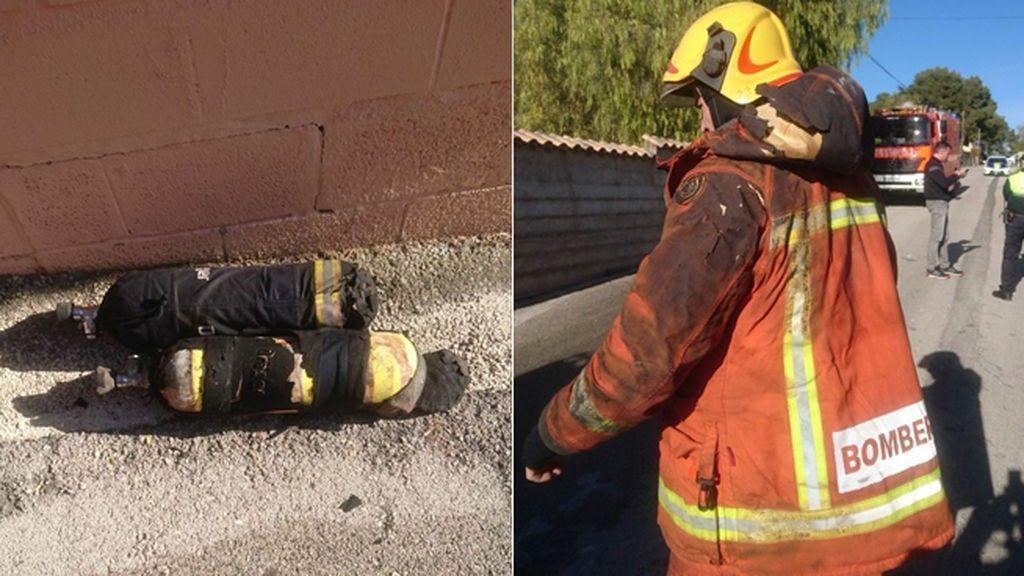 El incendio de Ontinyent en el que murieron dos bebés pudo originarse por una quema de rastrojos