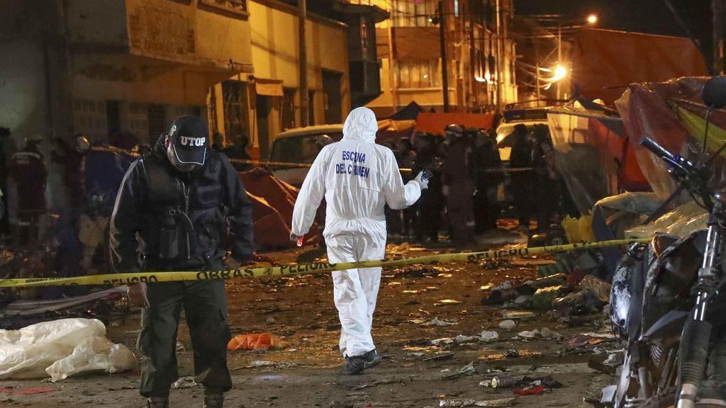 Seis muertos por la explosión de una bombona de gas en el carnaval de Bolivia