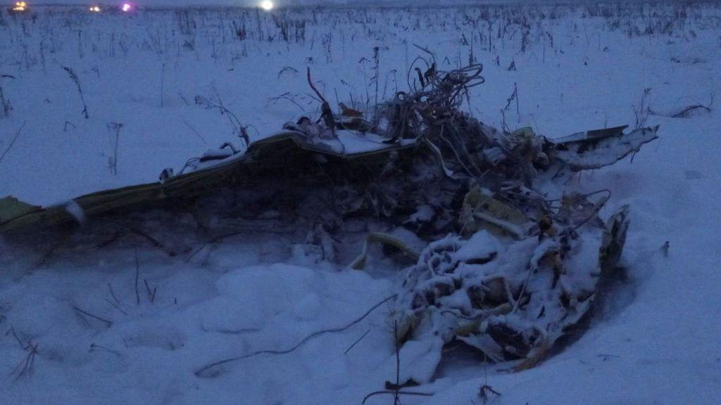 Accidente de avión en Moscú: el Gobierno ruso confirma la muerte de los 71 pasajeros