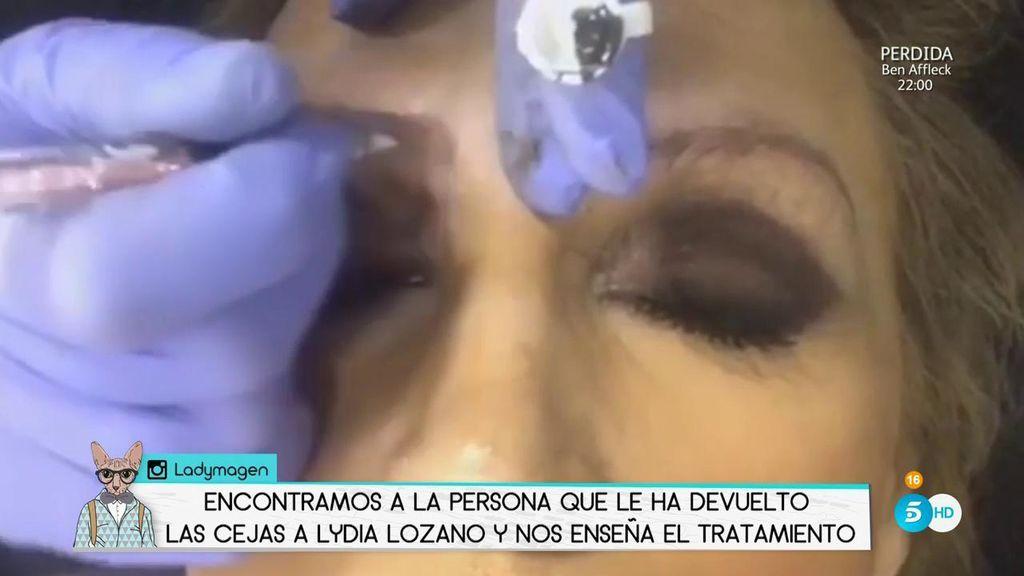 Descubrimos El Tratamiento De Lydia Lozano Para Recuperar Sus Cejas