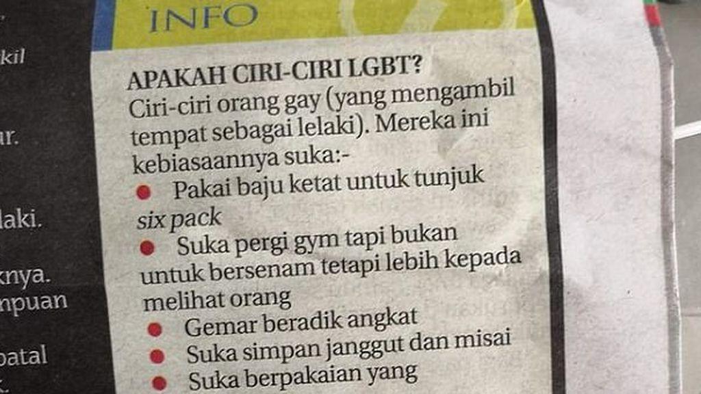 """""""Los gays no aman el gimnasio por el ejercicio, sino por ver a otros hombres"""""""