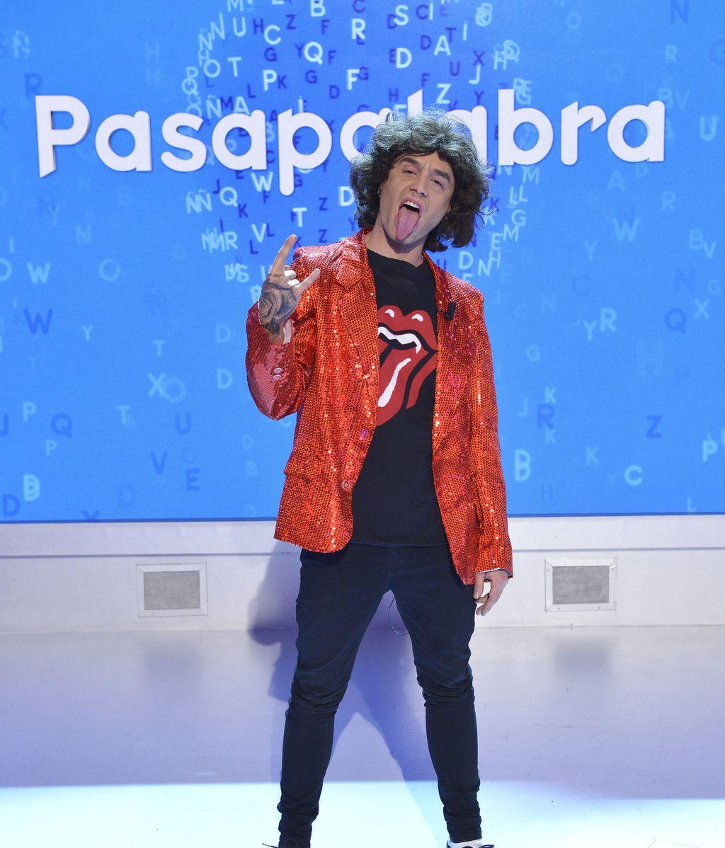 ¡'Pasapalabra' se viste de Carnaval rockero con Lorena, Adrián Rodríguez, Nerea Garmendia y David Fernández!
