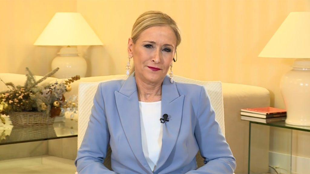 La entrevista de Pedro Piqueras a Cristina Cifuentes en Informativos Telecinco, íntegra