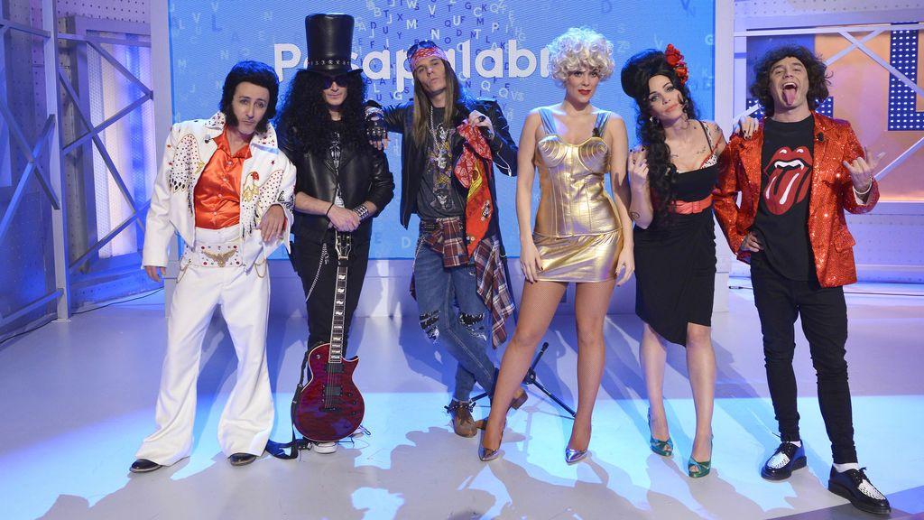 'Pasapalabra' celebra el carnaval homenajeando a grandes figuras de la música