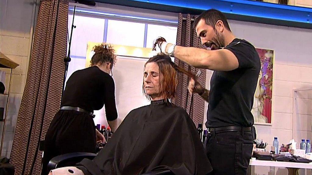 """¡El corte de pelo más tenso! Teresa, a Manuel Zamorano: """"Mi hermano es cazador"""""""
