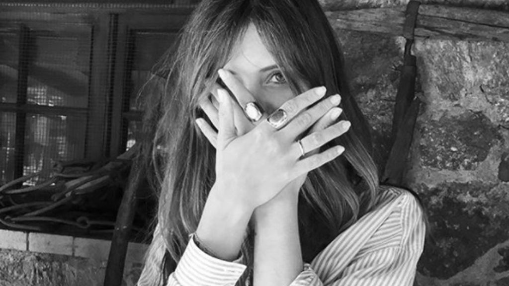 La perturbadora foto de Sara Carbonero 'Katrina'