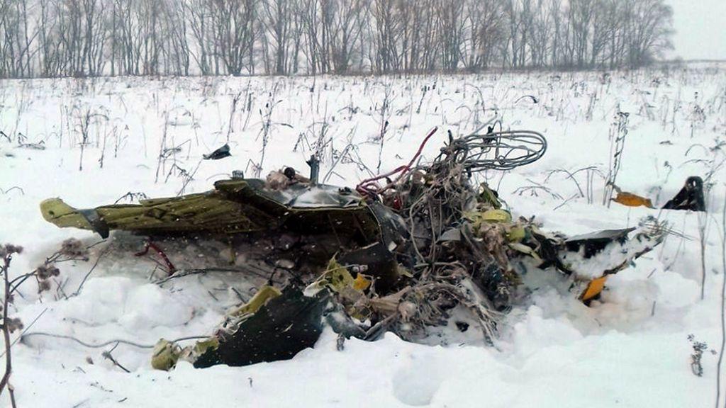Un error en los datos de velocidad, aparente causa del accidente del avión ruso