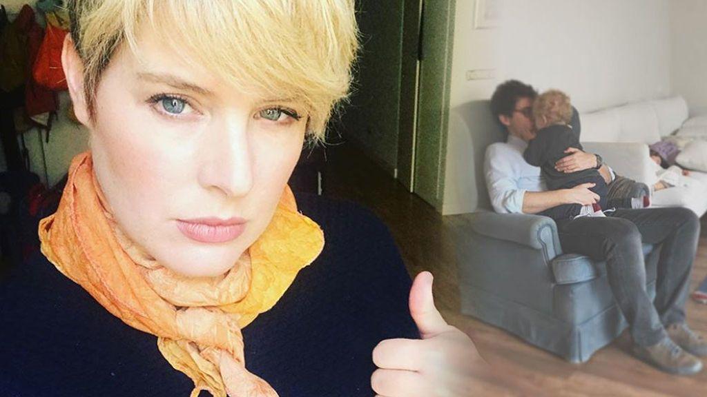 """Tania Llasera se justifica por decir a su marido """"tenemos que hablar"""" y """"si molesto me marcho"""""""