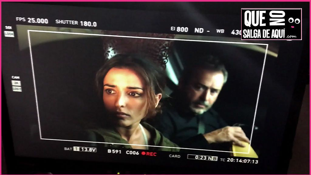 La divertida toma falsa de Inma Cuesta y Jorge Bosch al final del rodaje de 'El accidente'