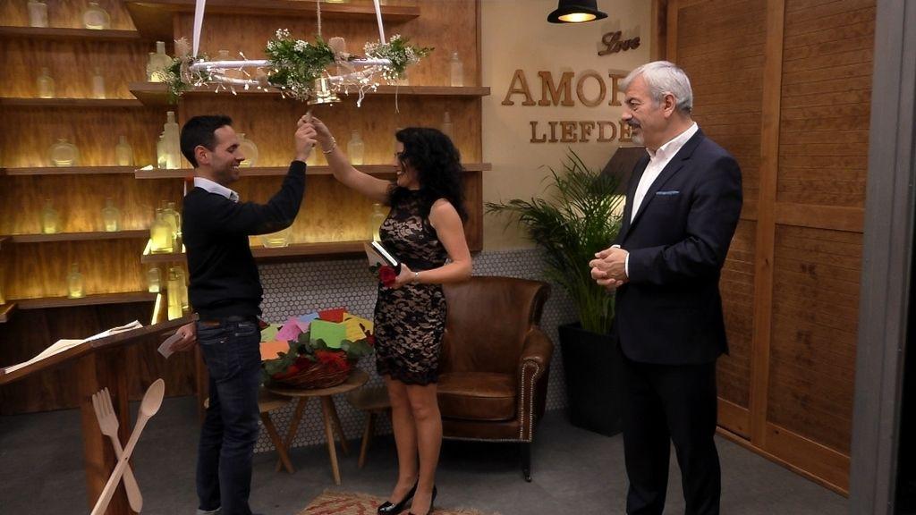Imágenes del programa especial de San Valentín de 'First dates'.