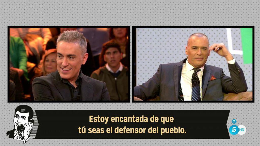 La audiencia, dividida con el papel de Carlos Lozano como Defensor del pueblo