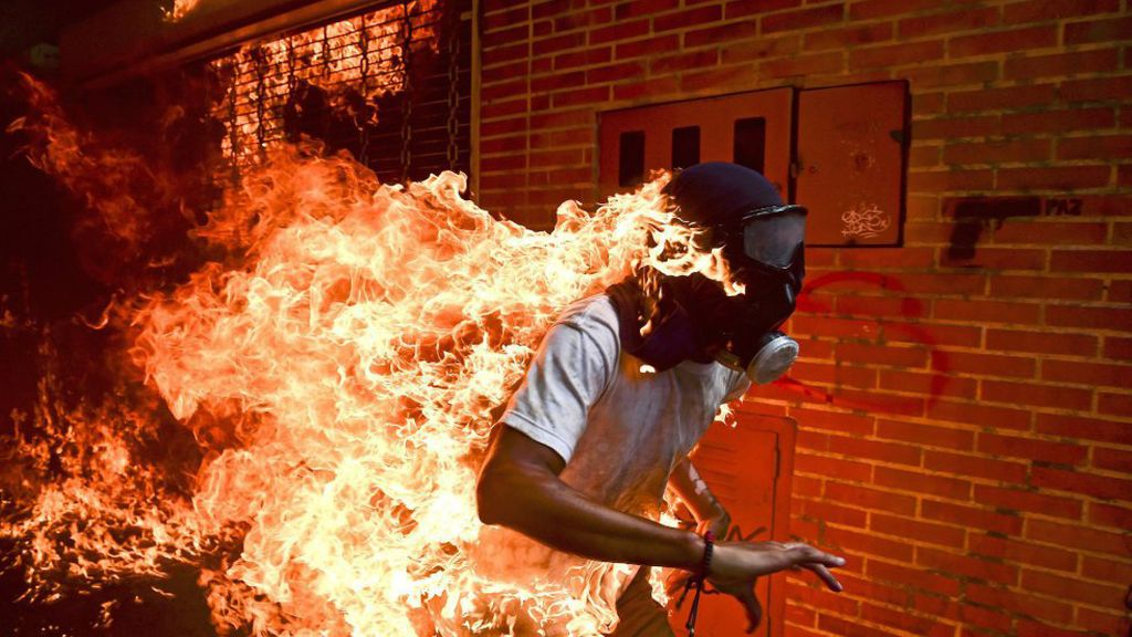 Las seis imágenes nominadas al World Press Photo 2018